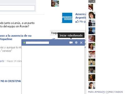 Skype + Facebook = Chat + Videollamadas