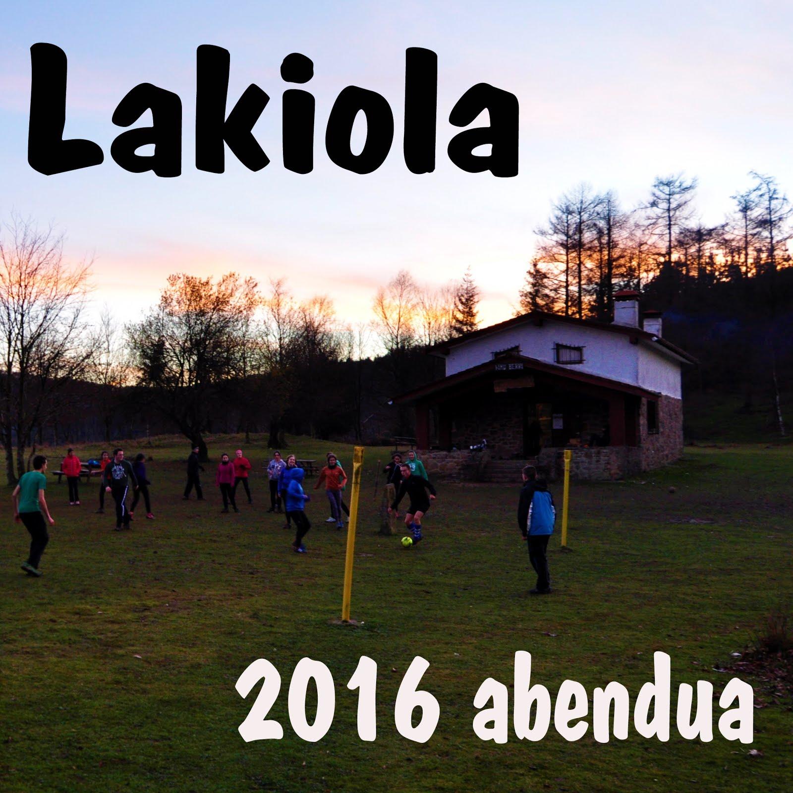 Lakiola 2016 Abendua