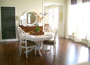 A dining room transformed
