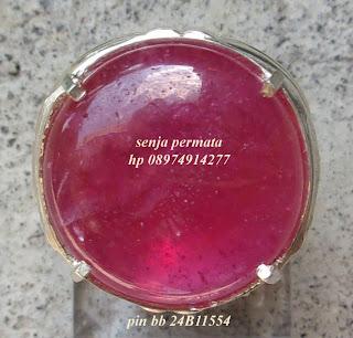 Cincin Permata Natural Ruby 092