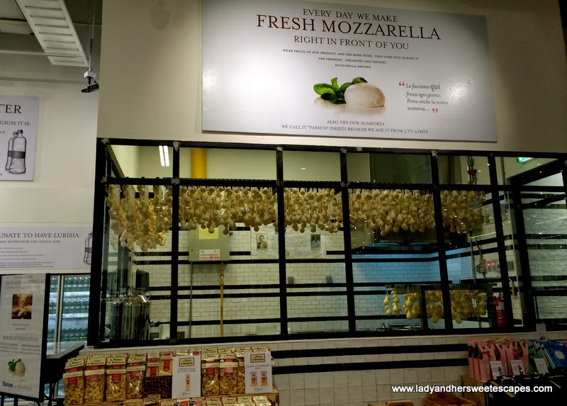scamorza at Eataly Dubai