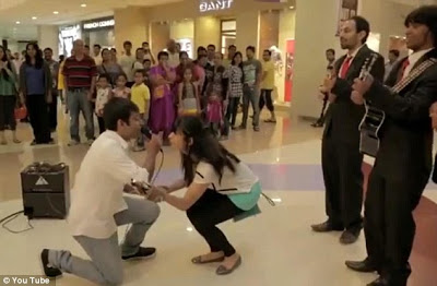 Proposal Gone Wrong Ring Falls In Water