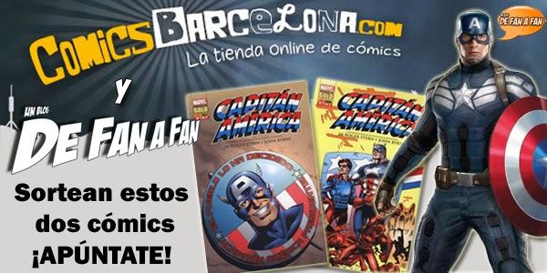 """Concurso """"Capitan América"""": Sorteamos un pack del Capi de Stern y Byrne"""