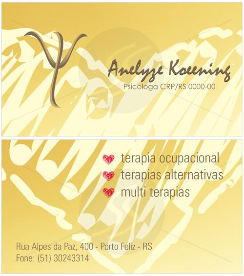 cartoes de visita psicologia criativo - Cartões de Visita para Psicólogos