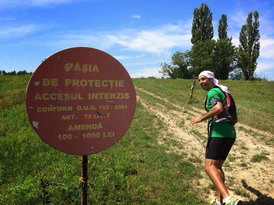 Natură şi căldură pe traseul Foeni - Cruceni - Grăniceri şi retur. Judeţul Timiş. Frontieră