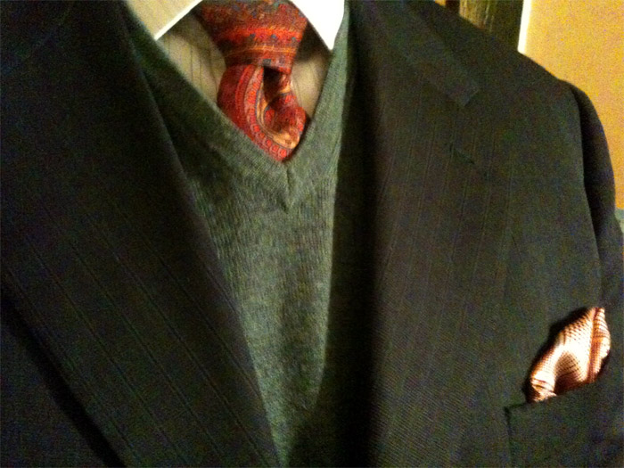 Liberty tie + pocket square