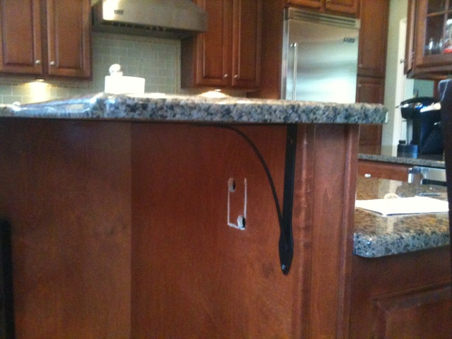 Counter Top Outlets In A Kitchen