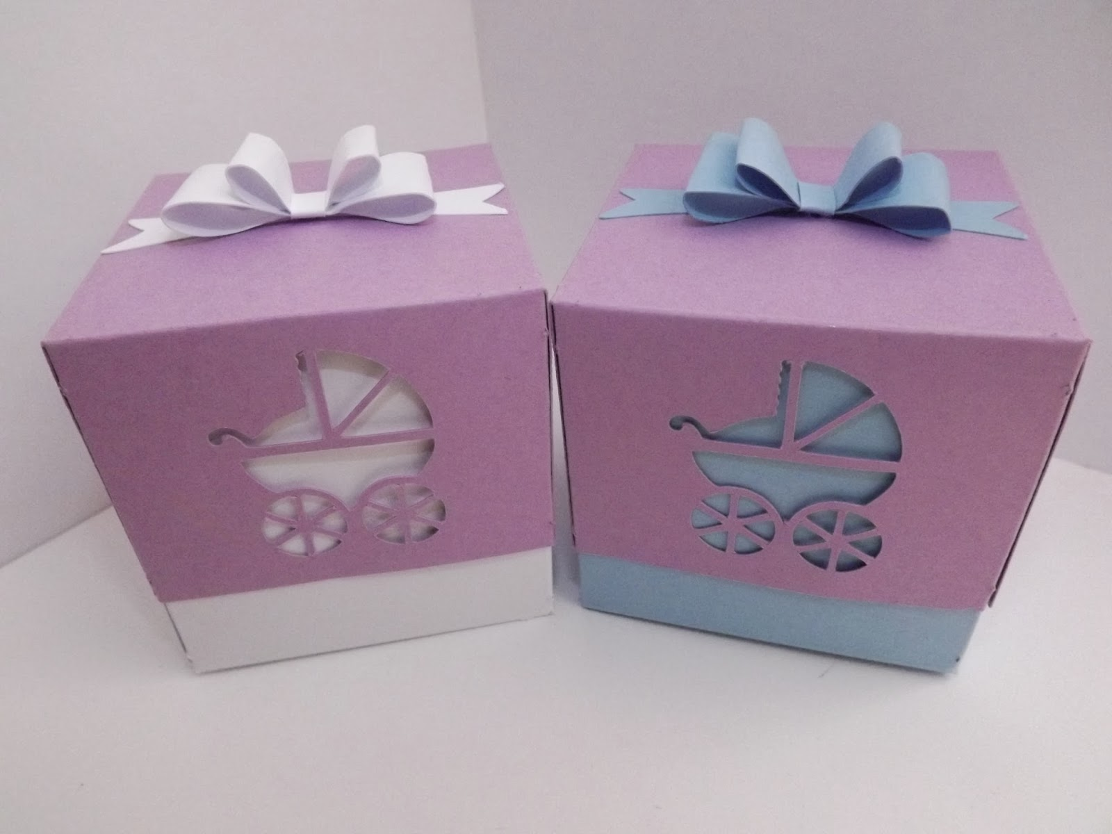 craftycrafter baby shower gift favour boxes and polish snowflake