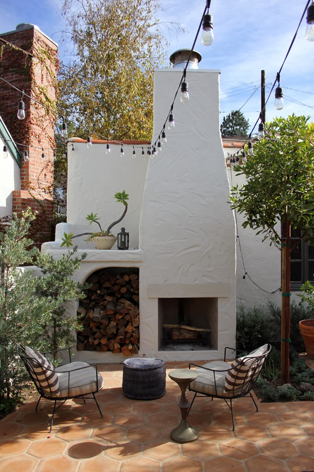 You have been here sometime for Spanish outdoor fireplace