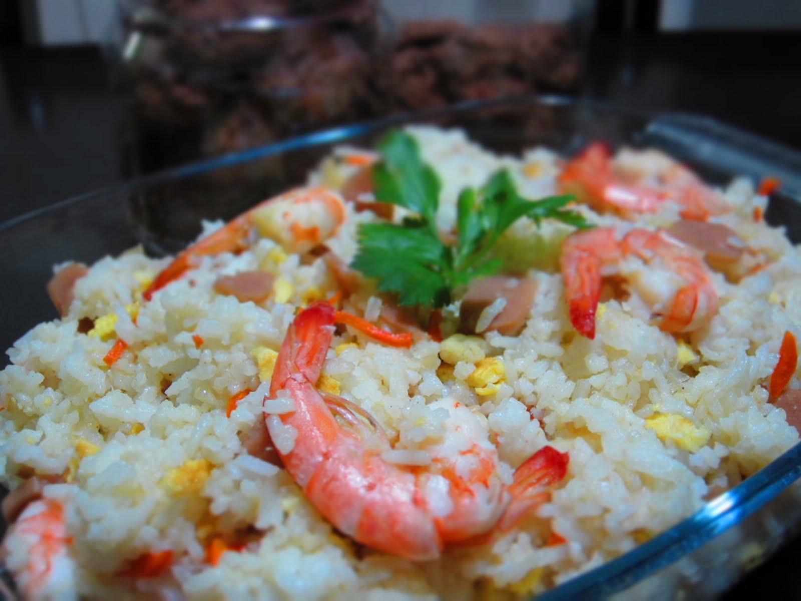 Taste Buds...: Nasi Goreng Udang....