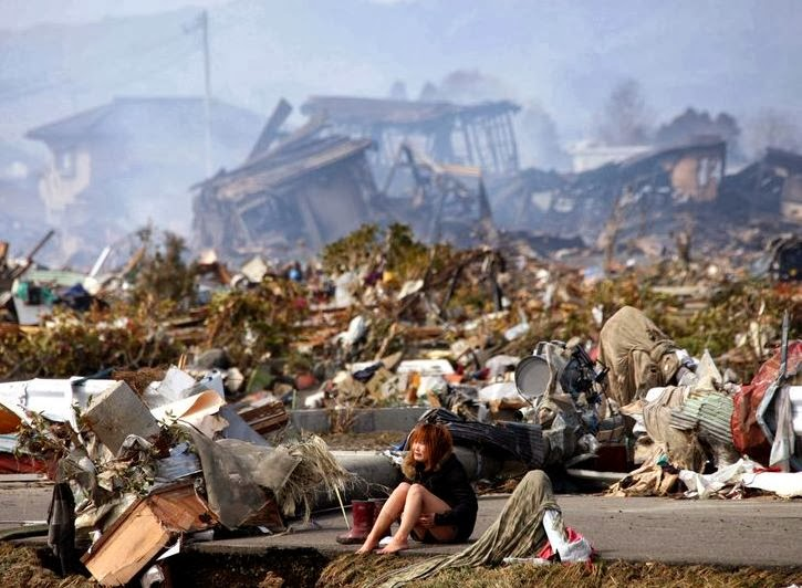 Destrozos tsunami