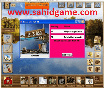 Fish Cheat - Always Catch Fish Hack New Update ~ Sahid All Games Cheat