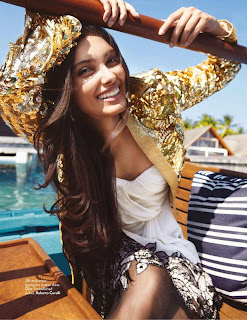 Diana Penty Sizzling photoshoot for Vogue Magazine India July 2012
