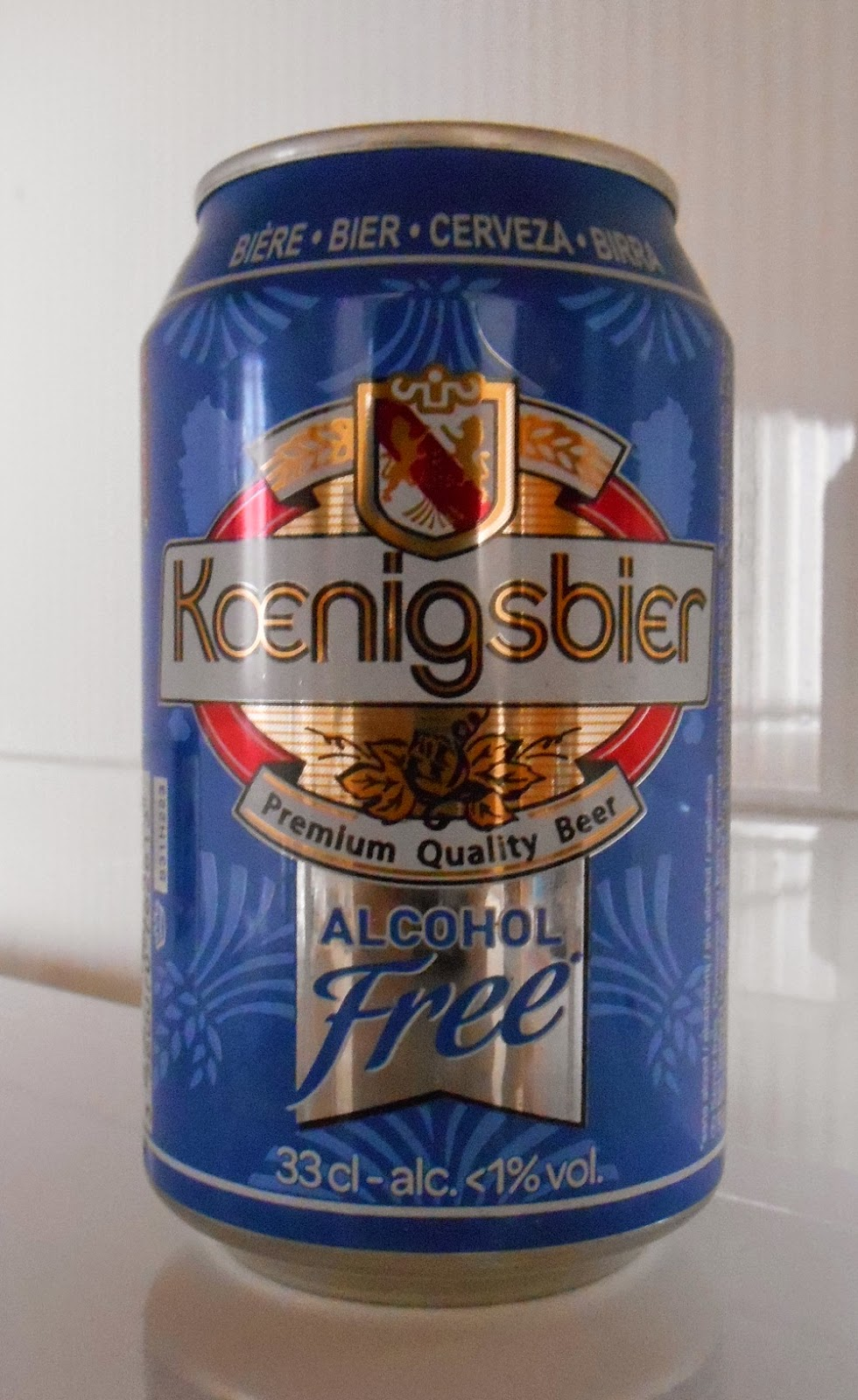 Koenigsbier alcohol free beer