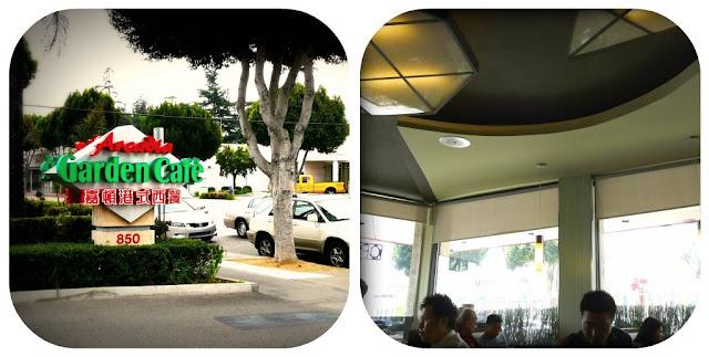 Garden Cafe Arcadia Lunch Menu