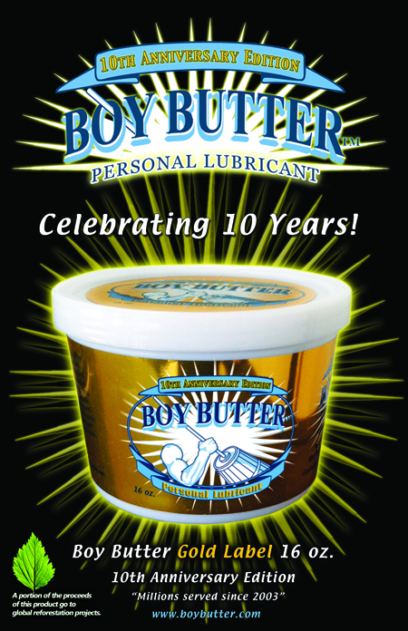 New # 1 Bestseller: Boy Butter Gold Label 16 oz