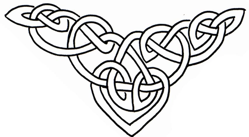 Celtic designs worksheet