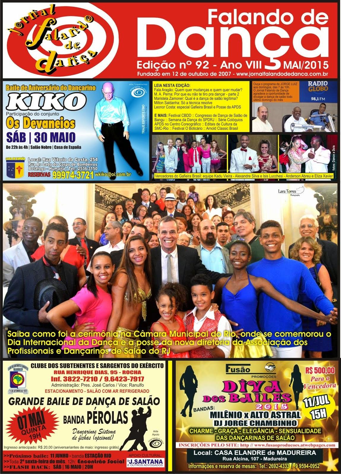 Leia on line a ed 92 (Maio/2015)