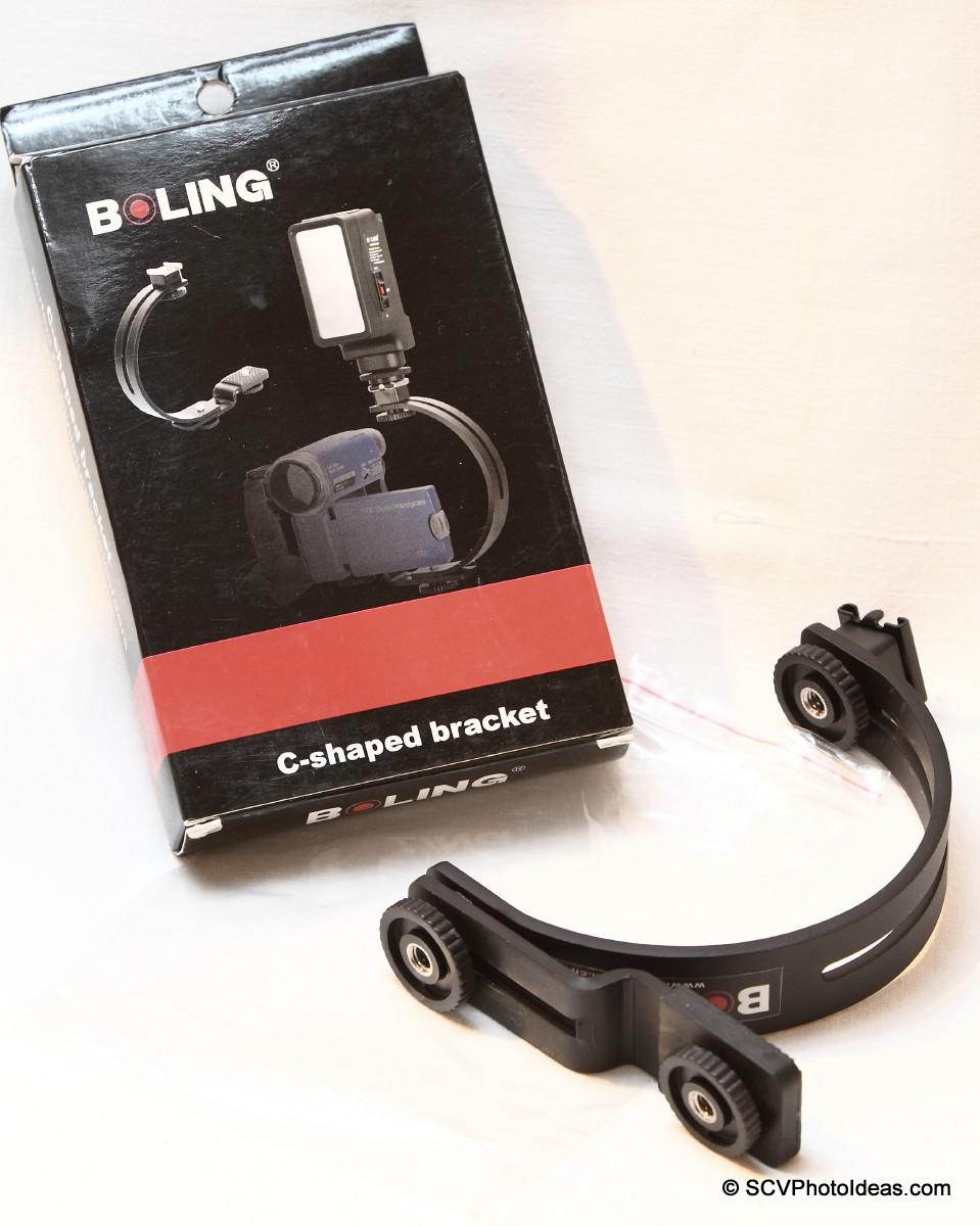 Boling C-Shape Flash Bracket box