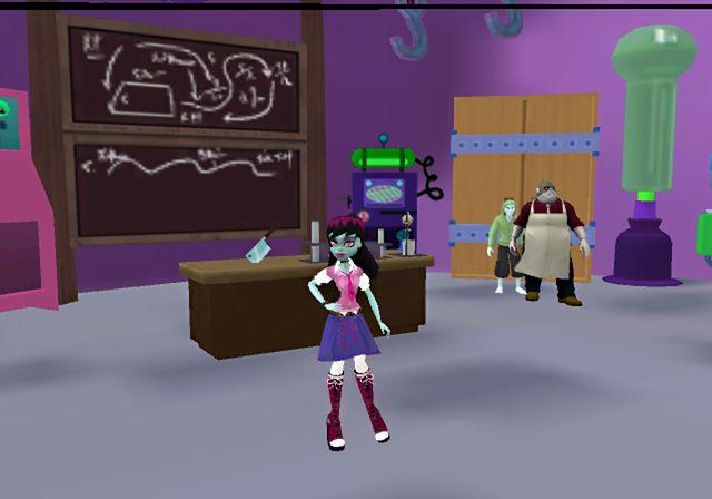 Nuevas imagenes de Monster High School Spirit