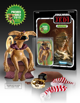 "Holiday 2015 Edition Star Wars Salacious Crumb 7"" Jumbo Vintage Action Figure by Gentle Giant"