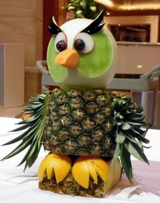 coruja abacaxi