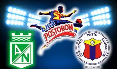 Nacional Vs Pasto en vivo Fecha 10 Liga Postobón FPC