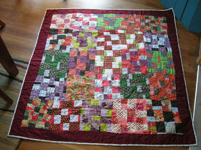 The Floating Squares Quilt and A Roundabout Way of Getting Inspired