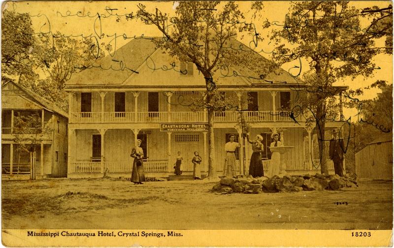 Chautauqua Hotel Crystal Springs