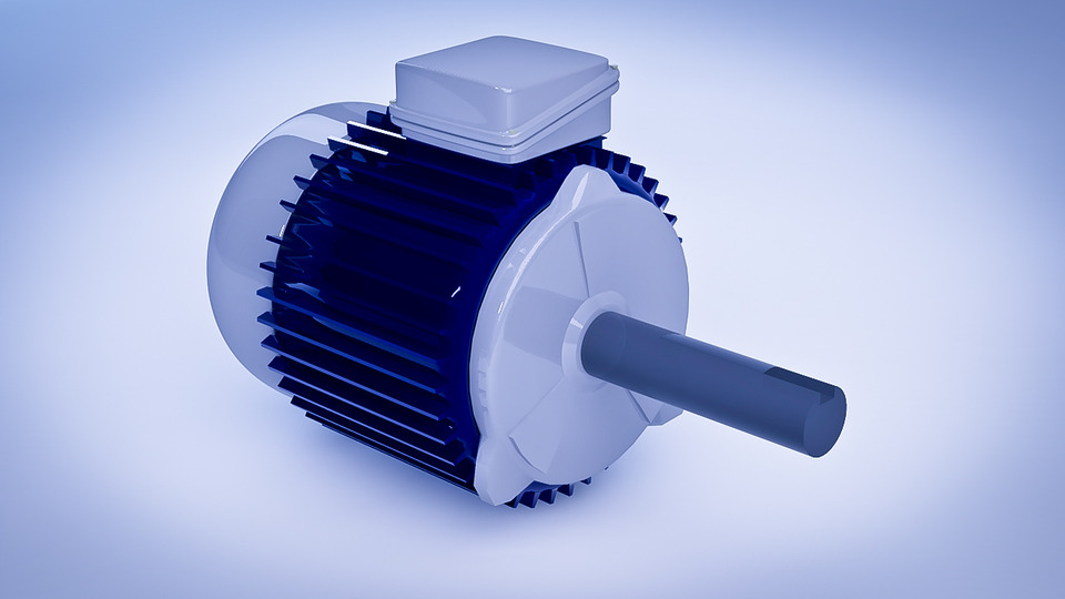 3D Electric Motor Download