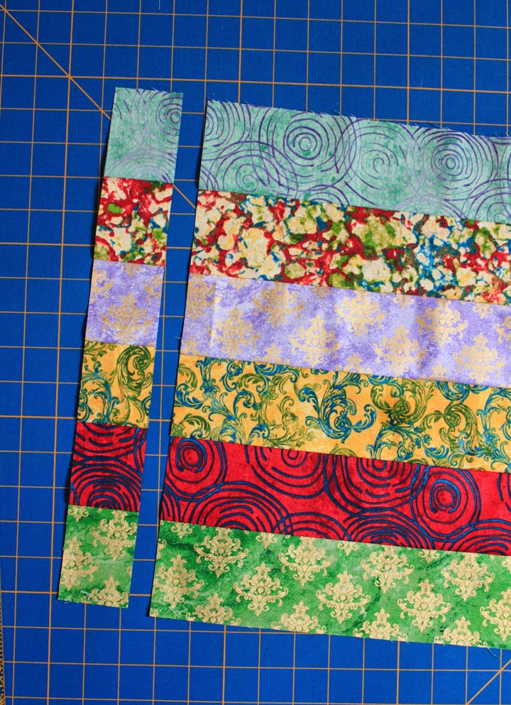 Inspired By Fabric Tutorial Star Sampler Quilt Assembly