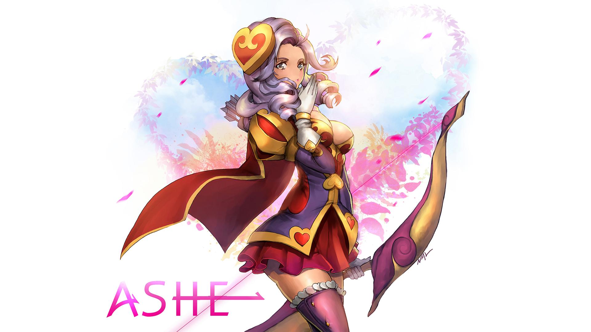 Heartseeker Ashe Art 1080p 3f Wallpaper HD