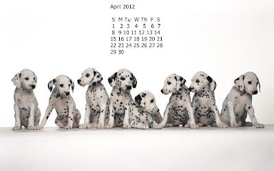 calendar aprilie 2012