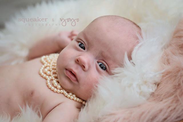 Twin Girls newborn portraits in Mississauga