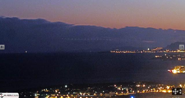 Los misteriosos objetos que vuelan sobre Monte Carlo Monte+Carlo2