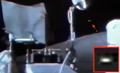 Clear Disc UFO Caught During Apollo 17 Mission, UFO Sightings