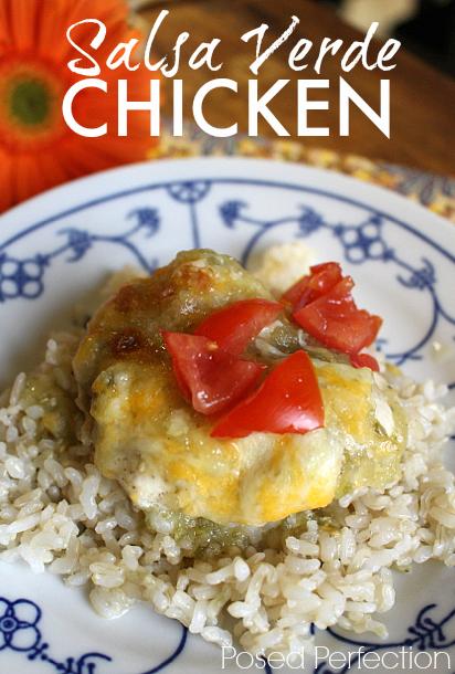 Super Simple Salsa Verde Chicken