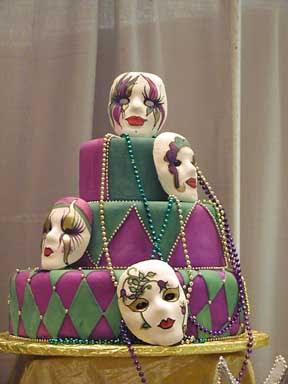 New Mardi Gras Cake
