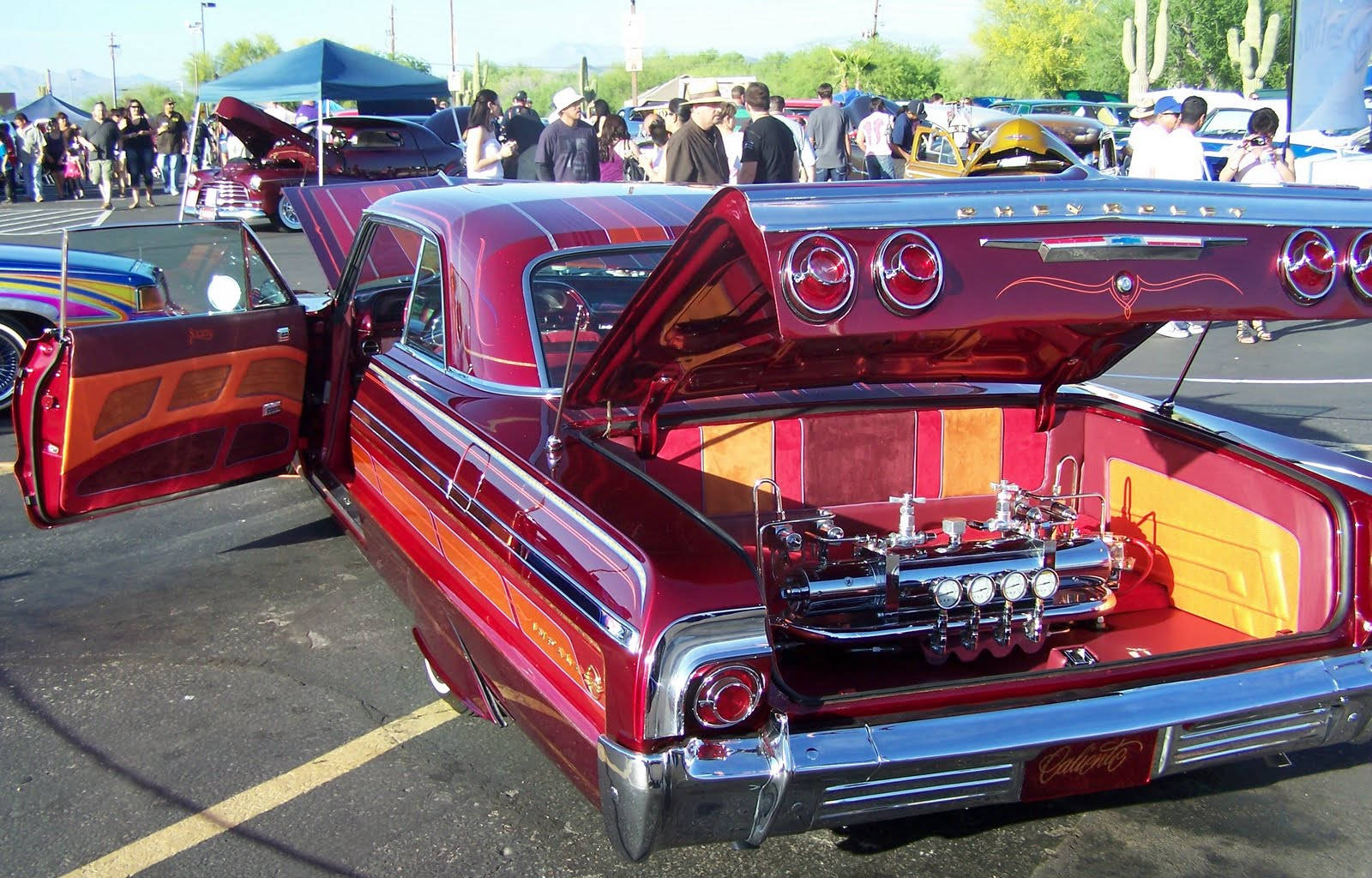 Up To Speed Ft McDowell Low Rider Car Show - Cool cars hydraulic