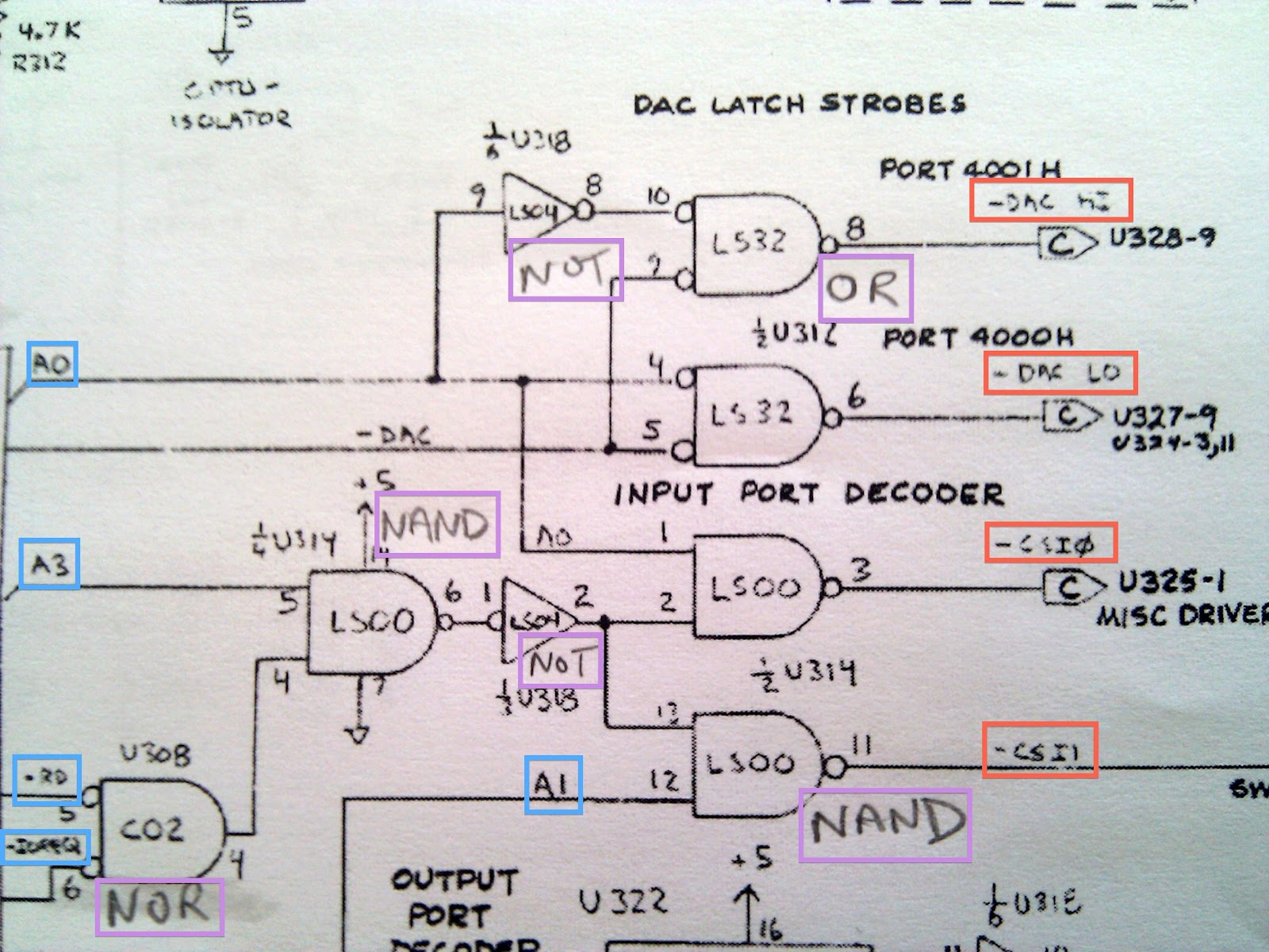 Port Decoding Logic Prophet 600 Spirit 2 4 Decoder Diagram Dave Smith Who Impressively Seems To Have Hand Drawn Almost All The 600s Schematics Has Apparently Used A Bunch Of Unconventional Symbols