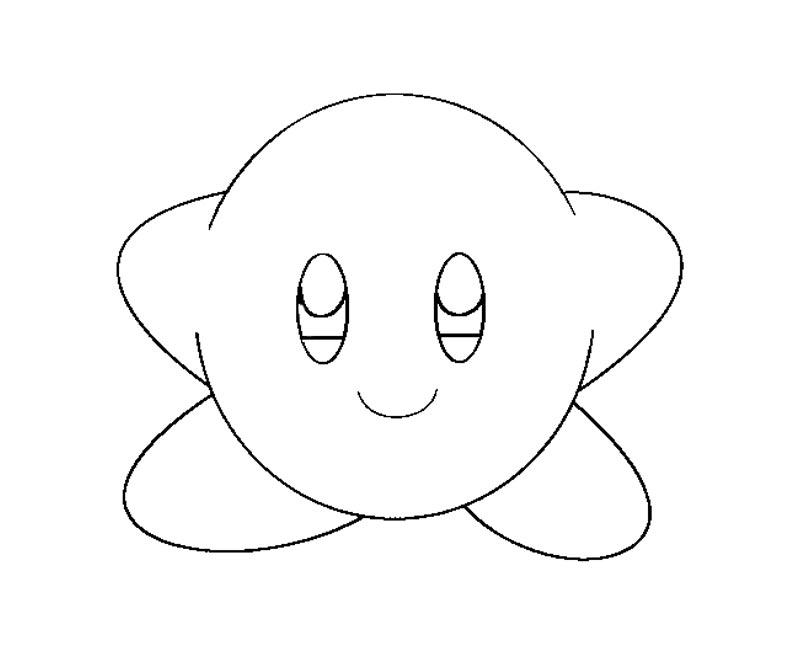 Free O Kirby Coloring Pages