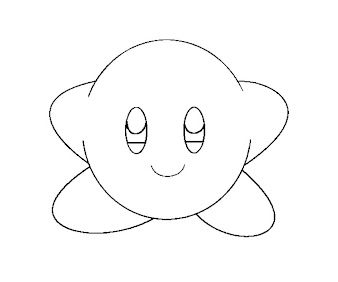 8 Kirby Coloring Page