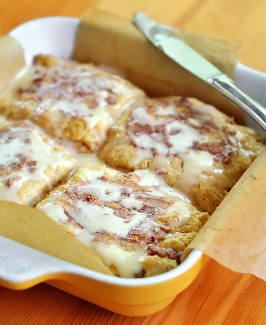 Giant Gooey Cinnamon Breakfast Biscuits | Cook'n is Fun ...