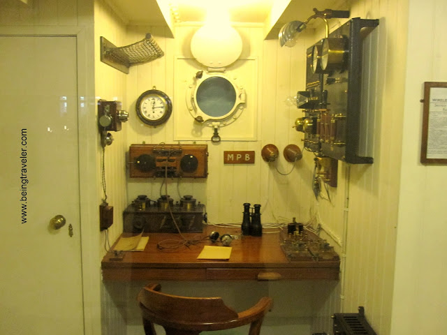 A ship's Radio Cabin of 1910