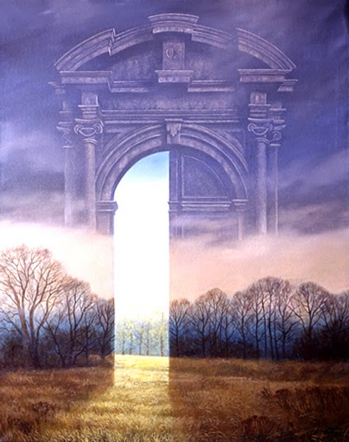 09-Gate-of-Spring-Marcin-Kołpanowicz-Paintings-of-Creative-Surreal-Worlds-ready-to-Explore-www-designstack-co