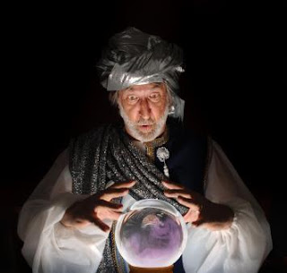 Guru with Crystal Ball