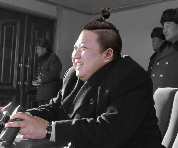 Kim Jong  Un norcoreano