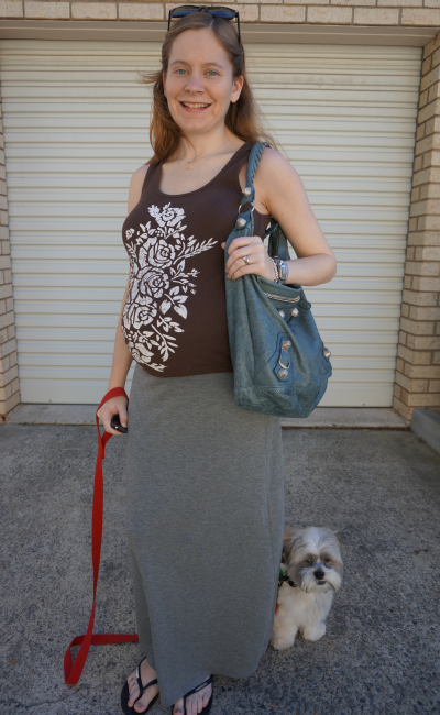 away from blue pregnant australian fashion blogger personal style casual weekend