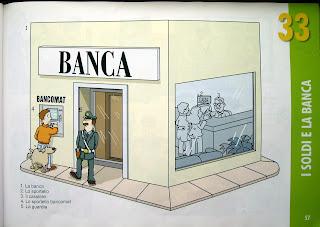 Уроки итальянского, банк