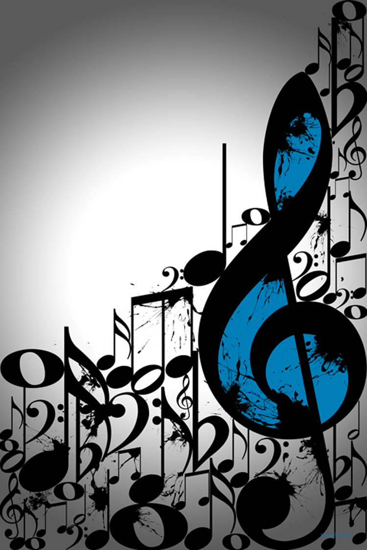 maxwell dickson 2 new typography artwork music notes and